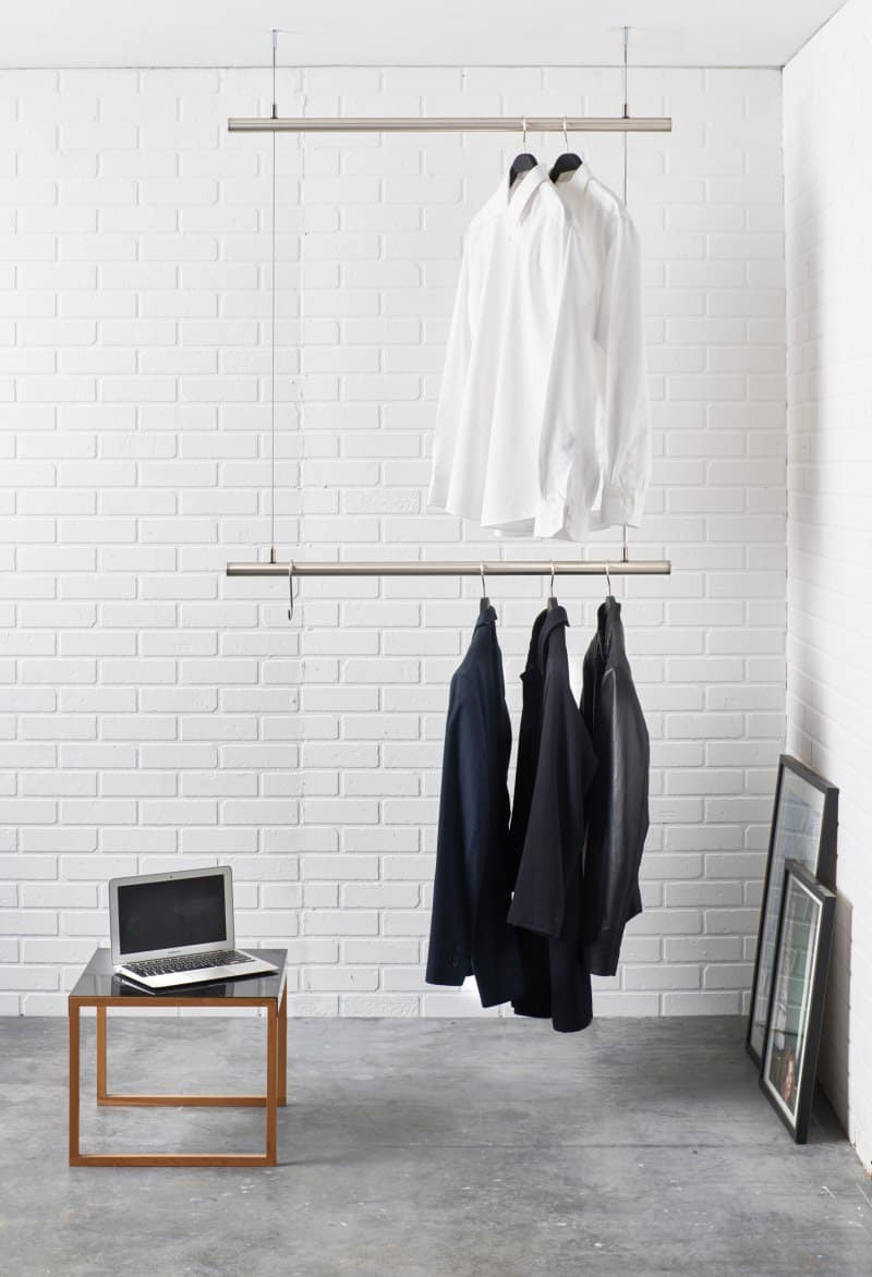 Aliexpress.com : Buy Standing clothing rack side against