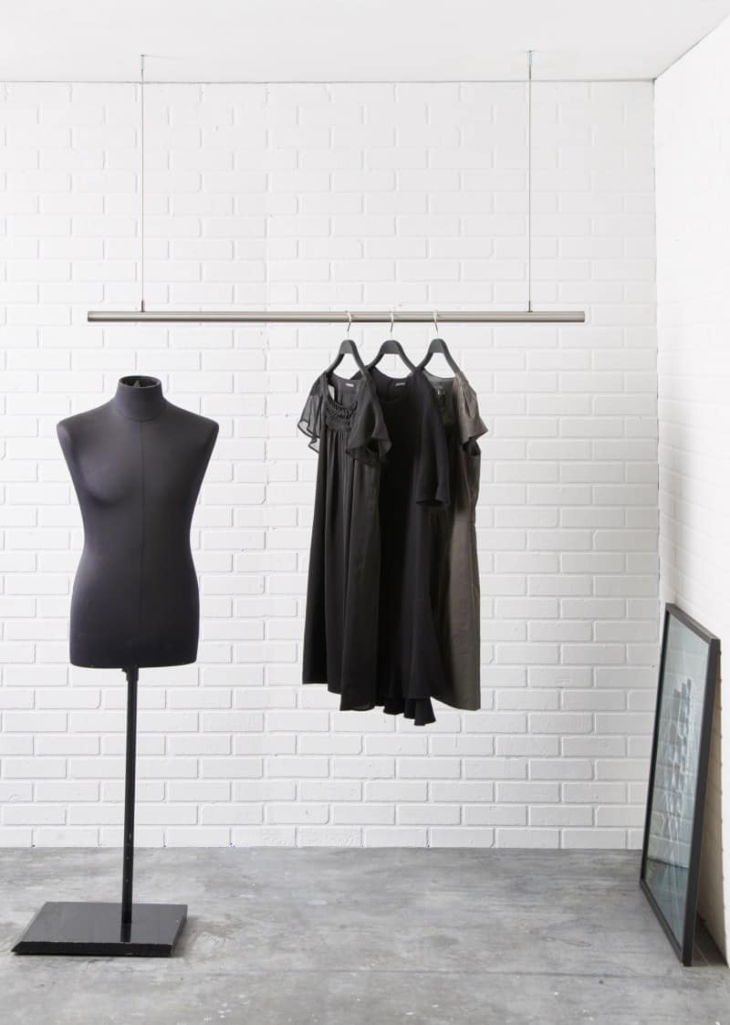 kleiderstangensystem airjust retail 800px3 raumform33. Black Bedroom Furniture Sets. Home Design Ideas